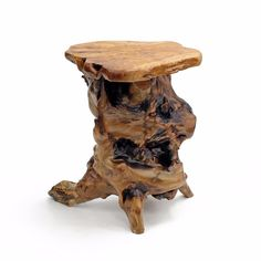 WELLAND Cedar Wood End Table / Rustic Side Table / Stool Stand Bench Chair | eBay