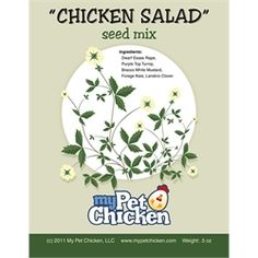 """chicken Salad"" Seed Mix (non-gmo"
