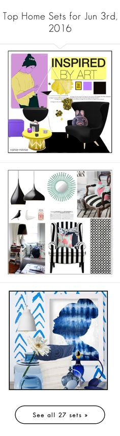 """""""Top Home Sets for Jun 3rd, 2016"""" by polyvore ❤ liked on Polyvore featuring interior, interiors, interior design, home, home decor, interior decorating, Menu, Bosa, Tom Dixon and Americanflat"""