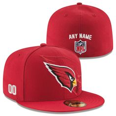 Arizona Cardinals New Era Custom On-Field 59FIFTY Structured Fitted Hat -  Cardinal. 59fifty HatsNfl ... 7594f439c