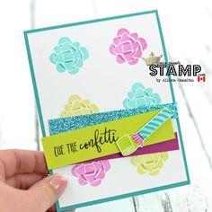 Hello friends! I have a bright and fun birthday card for you today using the brand new Picture Perfect Birthday Stamp Set. I LOVE this ...