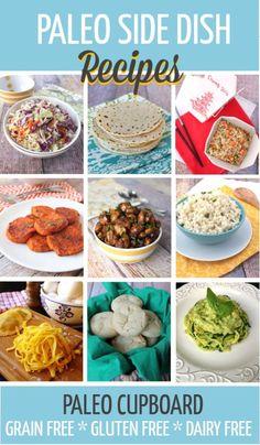 Tons of great Paleo Side Dish Recipes --> PaleoCupboard.com