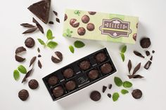 Cool peppermint and rich dark chocolate come together for one harmonious bite in our Delecto Peppermint Creams. Chocolate Box, Chocolates, Peppermint, Canada, Cream, Cool Stuff, Dark, How To Make, Mint