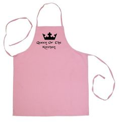 Tasty Threads Queen of the Kitchen Adult Chef Pink Cooking Apron Tasty Threads & Gear http://www.amazon.com/dp/B00AI53M3Y/ref=cm_sw_r_pi_dp_T5.-wb0RE91AQ