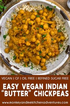 Whole Food Recipes, Diet Recipes, Chickpea Recipes, Vegetarian Recipes, Vegan Party Food, Masala Spice, Indian Butter Chicken, Indian Dishes, Savoury Dishes