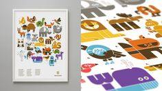 """$40. Wee Alphas Print - didn't know whether to pin to """"babies"""" or """"design""""...but its amazing and i want it."""