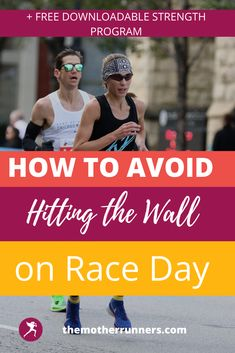 Don't hit the wall on race day with this Race Day Nutrition Guide for Marathons & Half-Marathons! Research shows that you can train your gut to fuel through your entire marathon without stomach issues or bonking. These tips will help you from hitting the wall and keeping your glycogen stores full. Plus, get a free month of running strenth plans for runners. #5k #10k #halfmarathon #marathon #runner #running #motherrunner #marathontraining Marathon Taper, Strength Program, 5 K, Half Marathons, Nutrition Guide, Race Day, Marathon Training, Runners, Racing