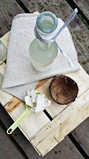 Słodko i Pieprznie: Likier kokosowy - Domowe malibu