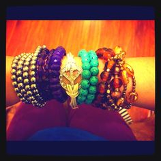 Bracelets. Bracelets. And more bracelets. oddnaz