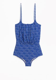 & Other Stories | Porcelain Print Swimsuit