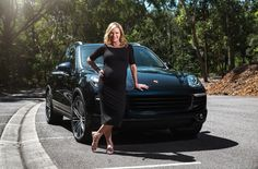 One of Australia's most admired and respected women, Sonia Kruger, has switched wheels with the delivery of her new Porsche Cayenne SUV as the mum-to-be gears up for an exciting new change of lifestyle. http://womanwithdrive.com.au/sonias-new-wheels/  #SoniaKruger #WomanwithDrive #Porsche #Cayenne #PorscheCayenne #SUV #Sportscar