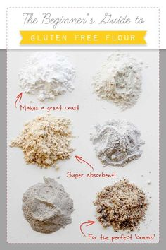 The Beginner's Guide to Gluten-Free Flour. A helpful resource - pin to save it for later!