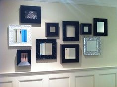 Nice collection of Roma picture frames for photos, art and mirrors Frame It, Custom Framing, Denver, Mirrors, Picture Frames, Gallery Wall, Wall Decor, Decor Ideas, Nice
