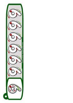 Llavero para trabajar la Grafomotricidad - Imagenes Educativas Printable Activities For Kids, Kindergarten Math Worksheets, Kindergarten Lessons, Preschool Learning Activities, Educational Activities, Printable Worksheets, Free Printable, Montessori Math, Preschool Writing