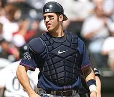 Joe Mauer, I Love this Catcher!