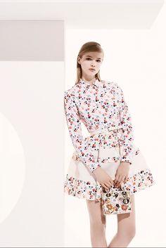 Christian Dior Resort 2013 Fashion Show - Hanna Wahmer (VIVA)
