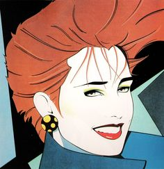 OMG os anos 80 no seu melhor! The brilliant career of Patrick Nagel , one of America& most significant contemporary artists, ended in . Patrick Nagel, Nyc Skyline, Nail Art Rosa, Pop Art, Pinup, Illustrator, Nagel Art, Poster Print, Arte Pop