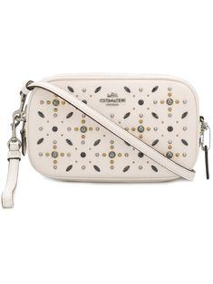COACH . #coach #bags #leather #clutch #metallic #shoulder bags #hand bags #glitter #