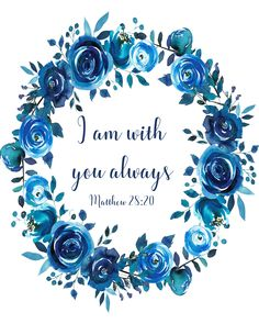 Scripture Verses, Bible Verses Quotes, Bible Scriptures, Wreath Watercolor, Watercolor Rose, Art Prints Quotes, Art Quotes, Quote Art, Image Deco