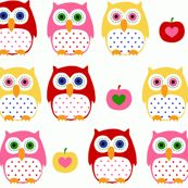This, and the 1024 (!!!) other Owl tagged fabric designs in Spoonflower (Credit for this one goes to Katharina Hirsch)