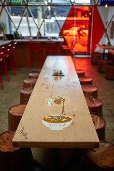 Ramen Bar Mixes Street Culture & Japan Vibes - Design Milk