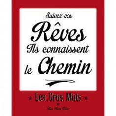 Poster Déco RÊVES