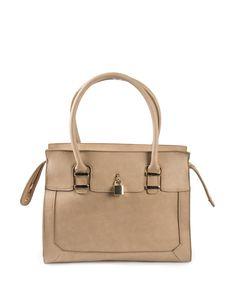 Lock Trim Tote Bag