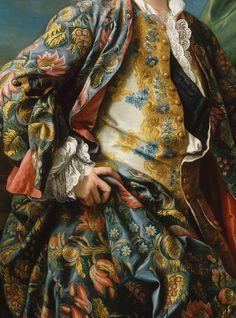 Charles-André Van Loo, Portrait de Jacques-Germain Soufflot (detail)18th century