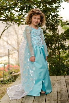 Elsa from Disney's Frozen Dress by PosiesAndPatches on Etsy