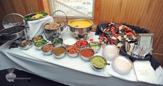 Nacho Bar .... great idea.....whatever you want to put on it!!!