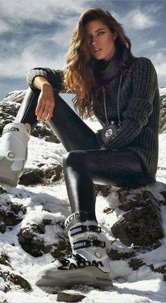Ski and apres ski / karen cox.