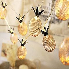 Naladoo Battery Box Pineapple Pineapple Fruit Creative Decorative Lamp Led String Lights for Indoor/Outdoor Christmas Thanksgiving Home Party Children Kids Bedroom Decoration (3M 20LED): Amazon.ca: Tools & Home Improvement