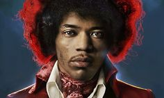 Mike Berkofsky's best photograph: Jimi Hendrix