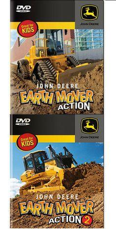 John Deere Earth Mover Kids DVD – GreenToys4u.com #johndeere #movies #DVD