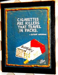 176   Cigarettes  by KOPLERART on Etsy, $32.00 ~ This might help you along if you're trying to quit ! Quit Smoking Pills, Quit Smoking Quotes, Giving Up Smoking, Wall Quotes, Me Quotes, Smoking Addiction, Im Trying, Weight Gain, Things To Think About