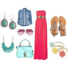 summer Polyvore