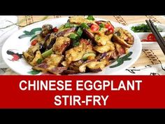 Dinner Ideas Eggplant : Chinese eggplant easy recipe-How to cook (taste better than meat) - Dinner Ideas Eggplant Video Dinner Ideas Eggplant In this video, I want to show you how to cook a Chinese, vegetarian dish with eggplant. The eggplant is Eggplant Recipes Asian, Eggplant Dishes, Asian Recipes, Ethnic Recipes, Chinese Recipes, Vegetarian Dish, Vegetarian Recipes, Cooking Recipes, Cheap Clean Eating