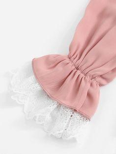 Sleeves Designs For Dresses, Kurti Sleeves Design, Dress Neck Designs, Stylish Dress Designs, Modesty Fashion, Muslim Fashion, Abaya Fashion, Iranian Women Fashion, Indian Fashion Dresses