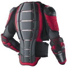 Zombie armor looks like motorcycle armor but multi purpose is always better!!!!