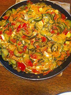 Tomaten-Zucchini-Pfanne mit Feta 7