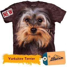 Tricouri The Mountain – Tricou Yorkshire Terrier Face Mountain Dogs, Yorkshire Terrier, Big Face, 3d, Shirts, Yorkshire Terriers, Yorkie, Teacup Yorkie, Dress Shirts