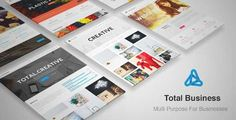 Download and review of Total Business - Multi-Purpose Business WP Theme, one of the best Themeforest Corporative themes
