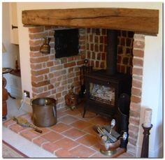 Fantastic Free traditional Fireplace Hearth Strategies Terrific Cost-Free inglenook Fireplace Ideas Popular Everybody enjoys a fireplace so below are some Exposed Brick Fireplaces, Inglenook Fireplace, Fireplace Hearth, Stove Fireplace, Fireplace Design, Fireplace Ideas, Log Burner Living Room, Brick Hearth, Brick Interior