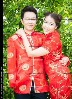 http://www.photaki.com/picture-couple-with-chinese-dress-in-love_1335459.htm