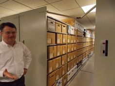 If you've never visited the Birmingham Public Library Archives, located in climate controlled space in the basement of the Linn-Henley Research Library, you have no idea what you're missing.