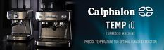 We start with one of the top choices for a home espresso machine, the Calphalon BVCLECMP1 Temp iQ Espresso Machine. It comes with everything to ensure a perfectly tasted, thick, and golden brown espresso for you. So let's check out its features here and find out more about it. Best Home Espresso Machine, Espresso Machine Reviews, Automatic Espresso Machine, Best Food Processor, Food Processor Recipes, Stainless Steel Pans, Cafe Style, Soft Serve, Small Kitchen Appliances