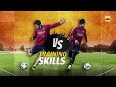 Barcelona battle: Luis Suarez v Gerard Pique in a shots with swerve competition (Video)