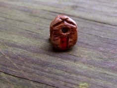 Little Log Cabin - handmade clay bead by BeadPie on Etsy https://www.etsy.com/listing/185015801/little-log-cabin-handmade-clay-bead