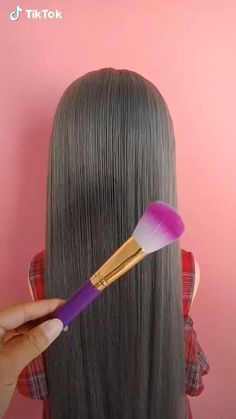 Bun Hairstyles For Long Hair, Braids For Long Hair, Cute Hairstyles, Wedding Hairstyles, Brown Hairstyles, Hairstyles Videos, Baddie Hairstyles, Elegant Hairstyles, Headband Hairstyles