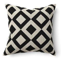 """Chobe 18"""" Diamond Print Pillow - Villa Home Collection      BD Price: $55.00"""